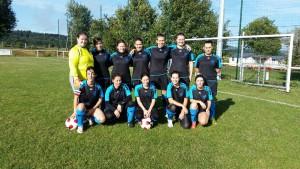 équipe féminine foot