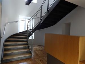 Nouvel escalier mairie